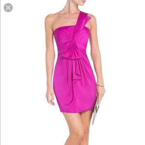 "Hot pink BCBG Maxazria ""Palais""dress!"